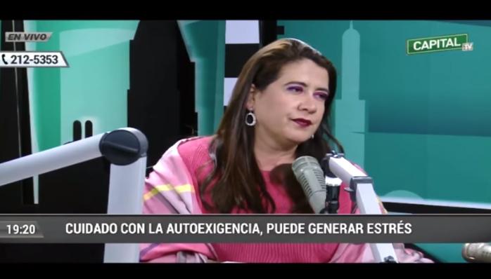 LA DEPRESIÓN   Rosa Maria Cifuentes en Capital TV